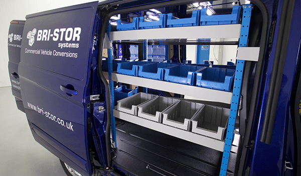 Van Storage Solutions from Bri-Stor Systems