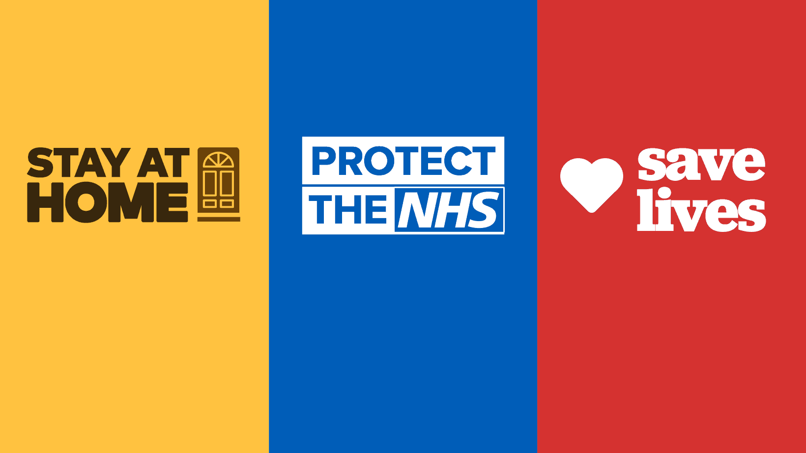 Stay at home and protect the NHS