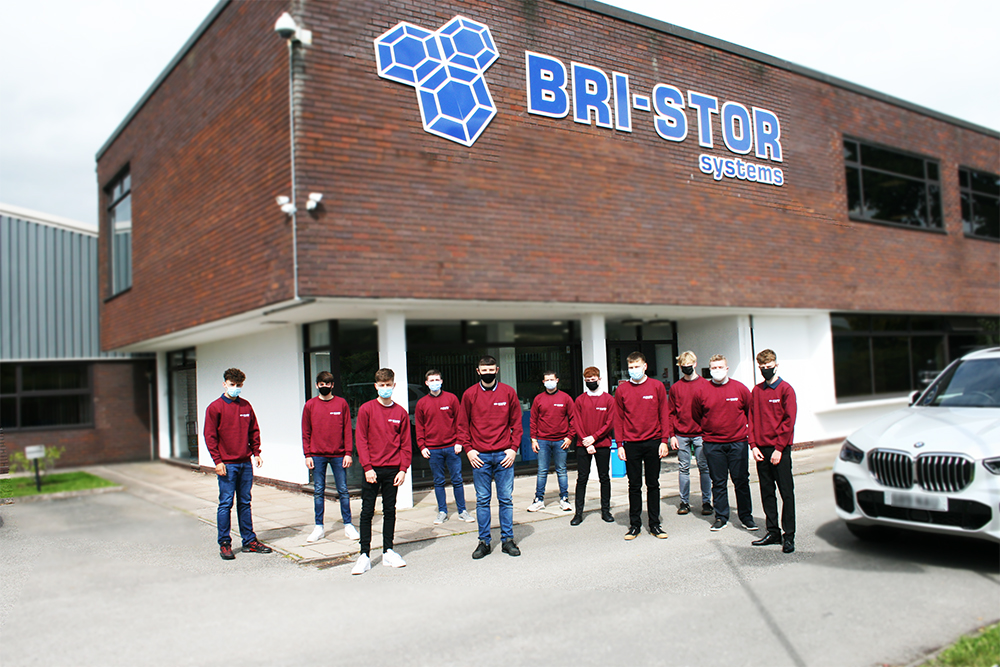 Bri-Stor apprentices