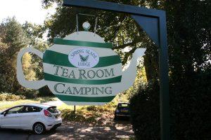 Tea Pot Sign