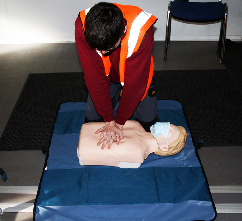 First Aid Course at Bri-Stor